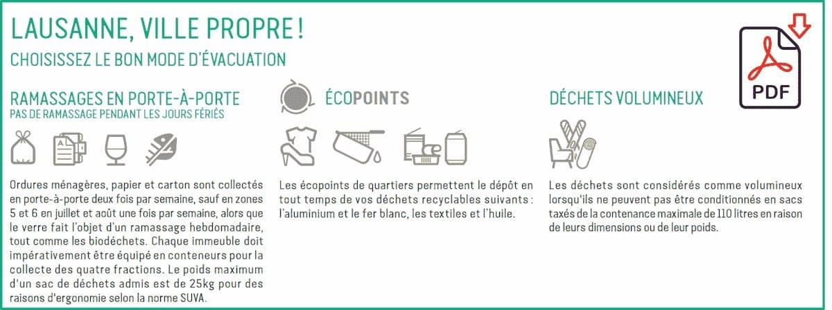 comment evacuer dechets lausanne PDF.min - Recyclage Express
