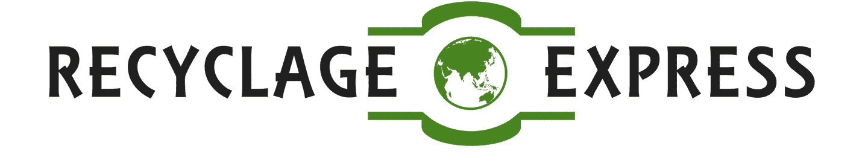 LOGO RECYCLAGE EXPRESS BLACK - Recyclage Express