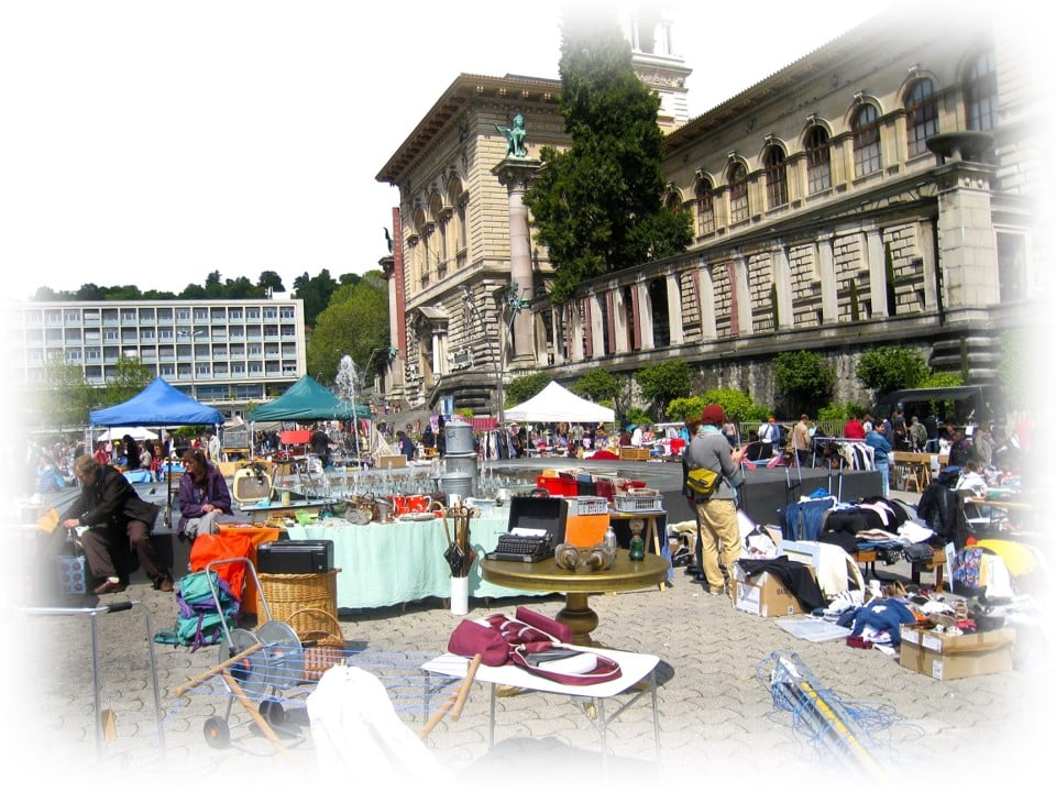 lausanne vide grenier brocante recyclage - Recyclage Express